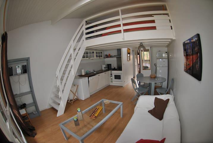 Studio Mezzanine Carcans Maubuisson - Carcans Maubuisson - Leilighet