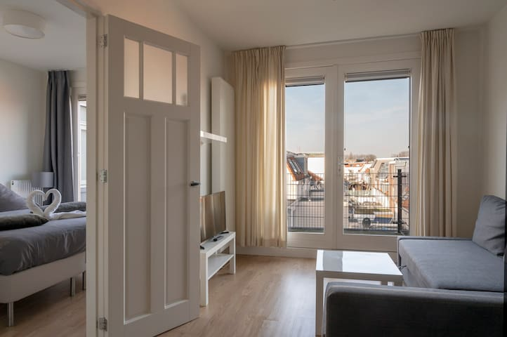 Comfortable & modern balcony apartment Utrecht