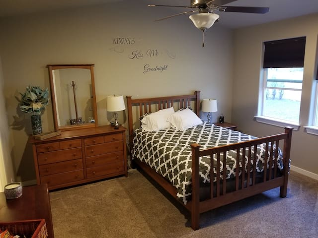 Master bedroom suite in West Valley area