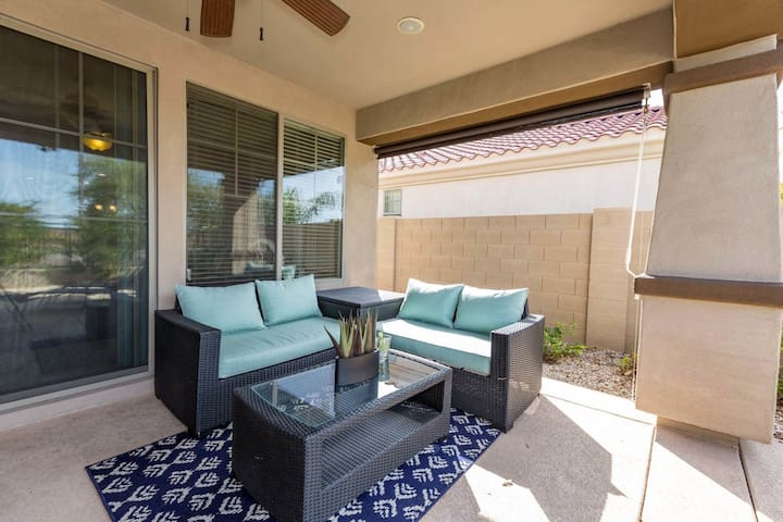 Conveniently located home w/ private pool & large patio - shared tennis & more