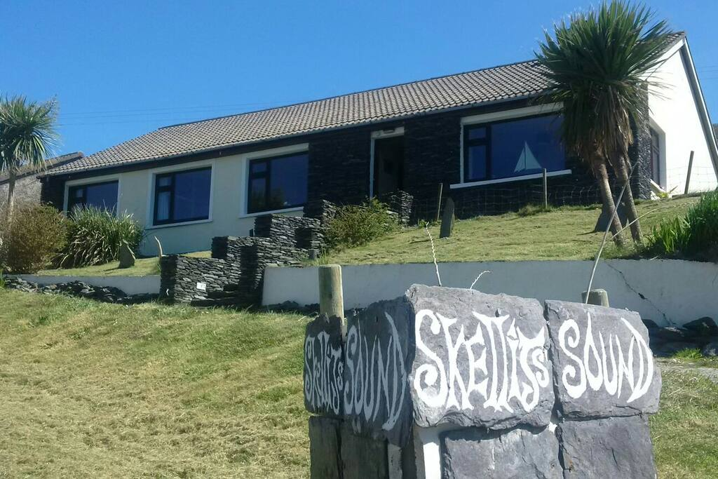 Your house that overlooks the Skelligs and the ocean