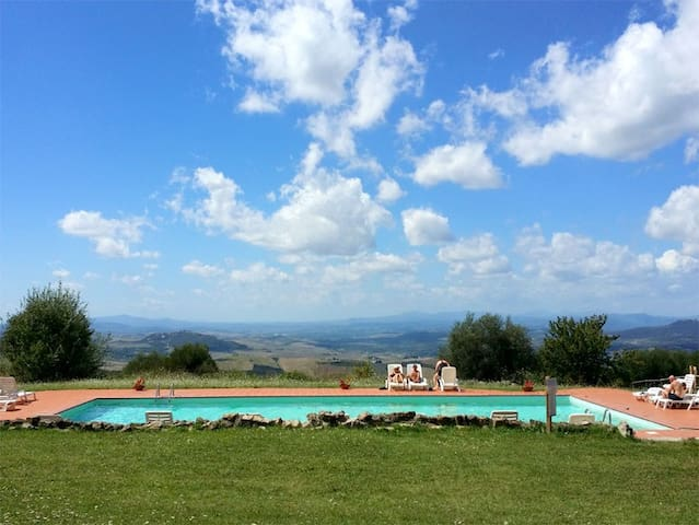 AMAZING APARTMENT IN VAL D'ORCIA - Seggiano - Lägenhet