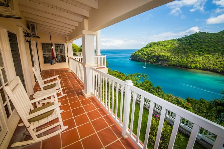 The Great House - of Marigot Bay