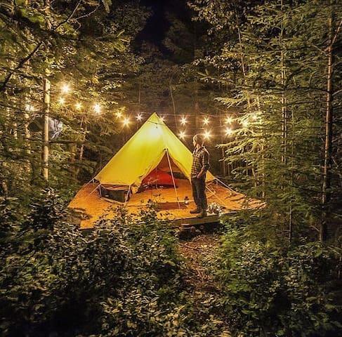 Camp Moose Trail (2)- Off Grid Micro Resort