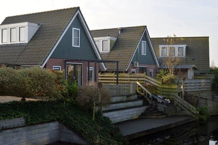 Holiday Home IJsselmeer Medemblik - Talo