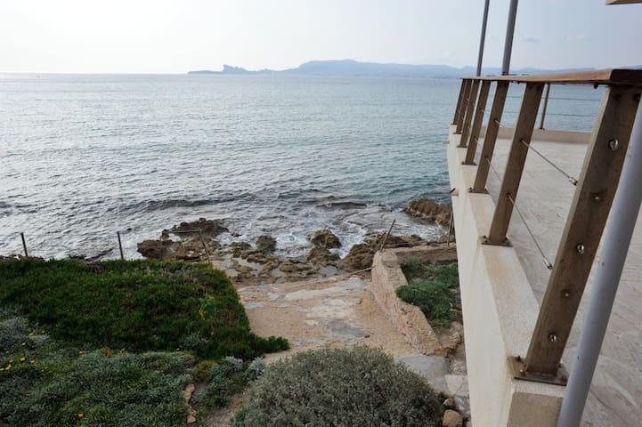 Private access to the sea, unique - Saint-Cyr-sur-Mer - Apartment