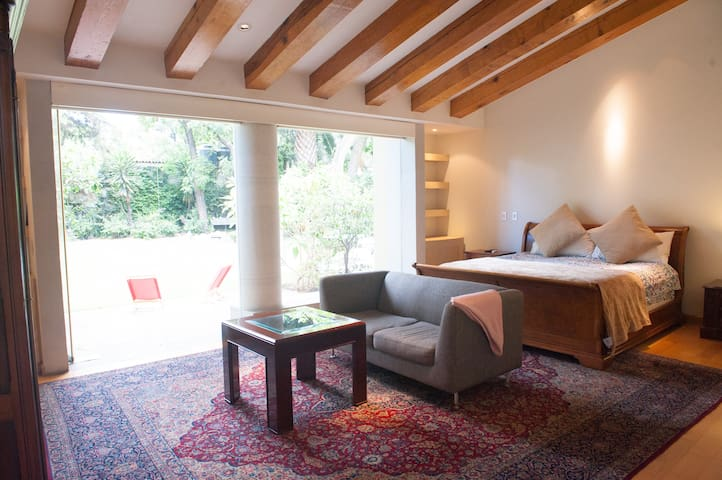 Master Suite in Coyoacán - Mexico - Bed & Breakfast