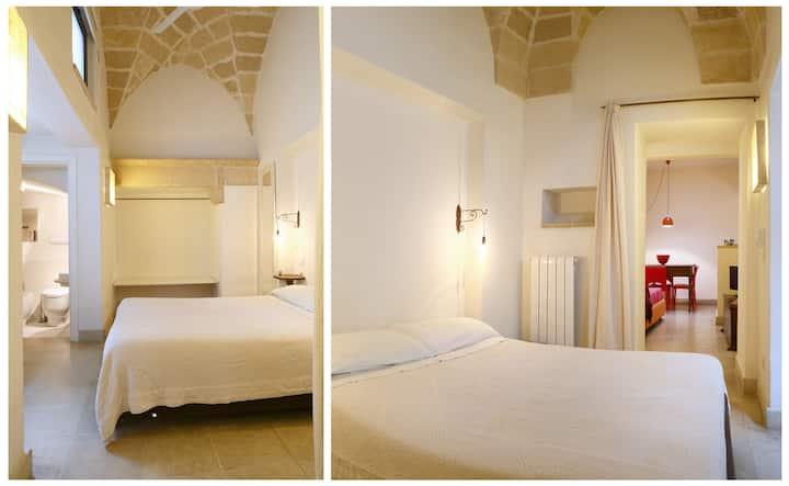 Suite nel barocco con terrazza in Palazzo storico.