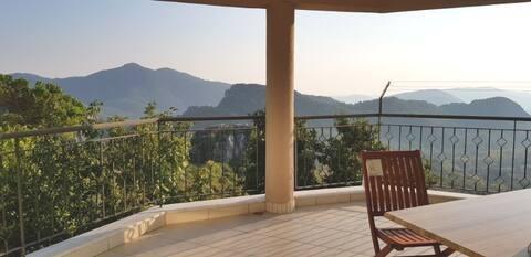 Casa de pueblo en la tranquilidad natural Antalya