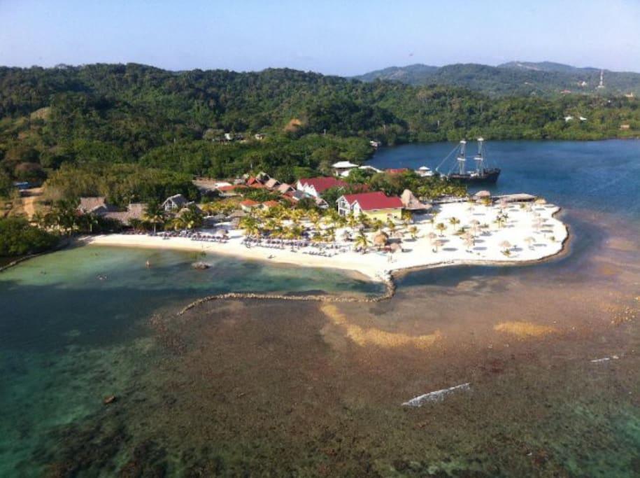 Aerial View of Las Palmas Resort