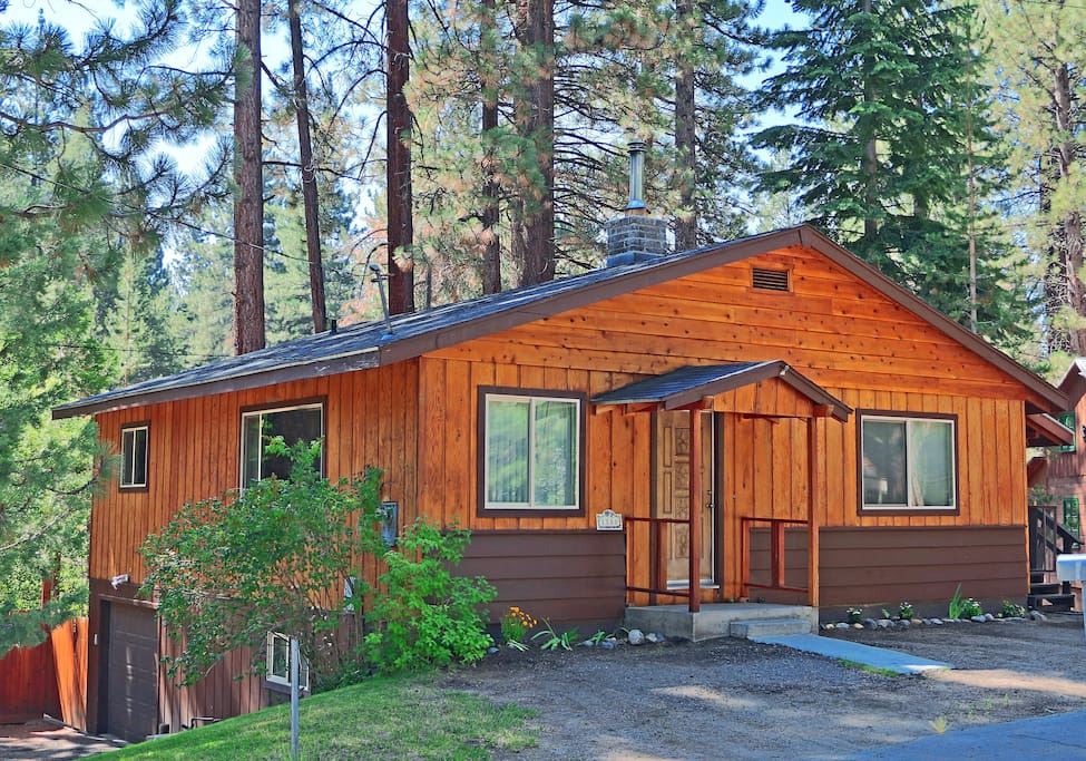 Diana 39 s lake tahoe cabin houses for rent in south lake for South lake tahoe cabins near casinos