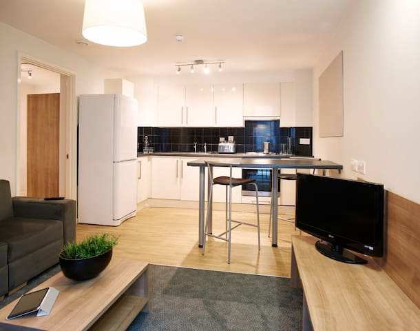 Spacious one bedroom apartment in South Bank