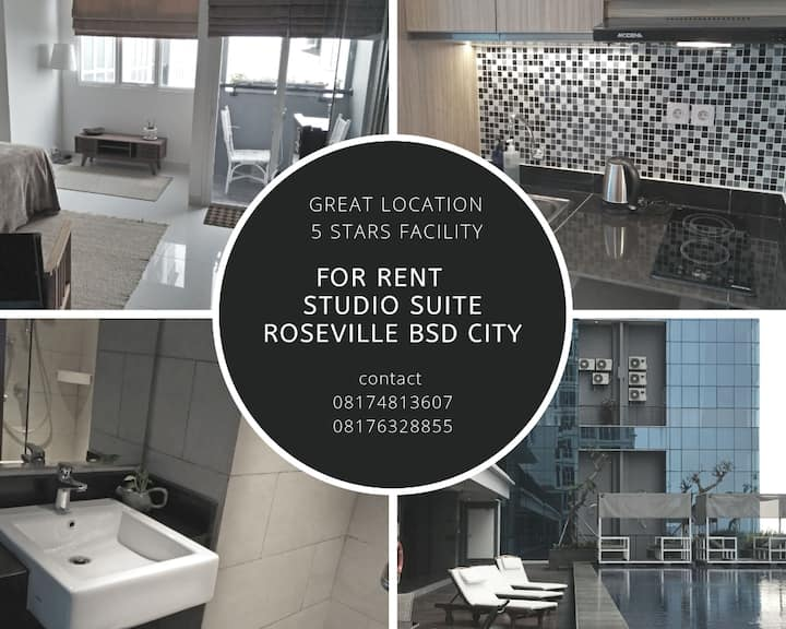 Studio Suite Roseville in BSD City, Great Location