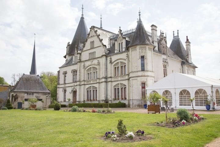 Chambre Henriette Château vue sur Cher