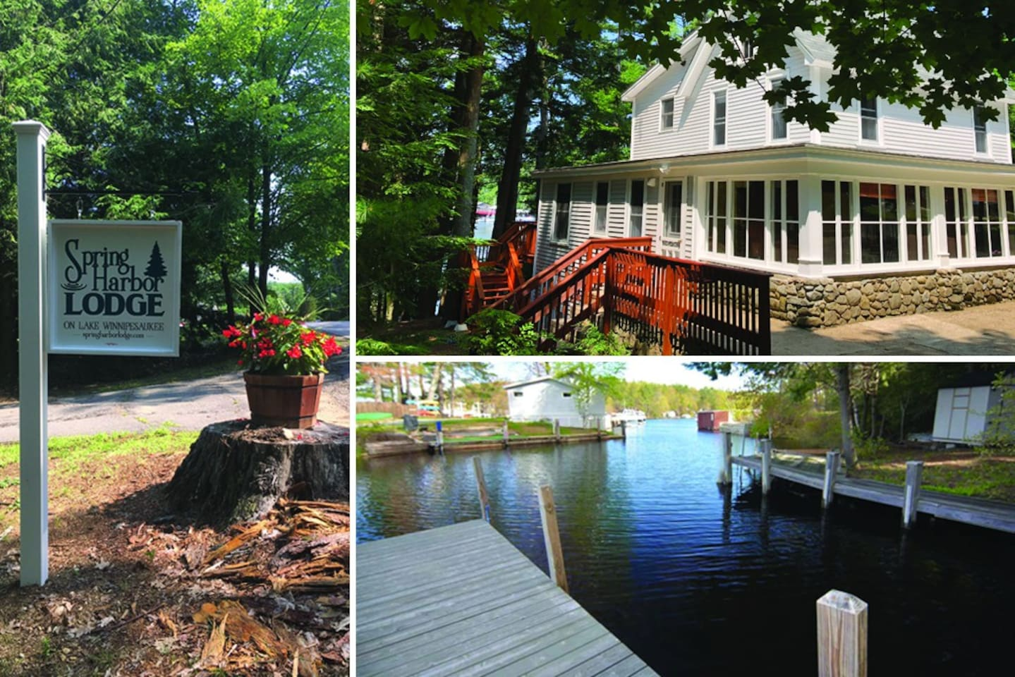 Welcome to Spring Harbor Lodge on Lake Winnipesaukee!