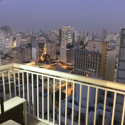 Expectacular View Downtown Sao Paulo com GARAGEM