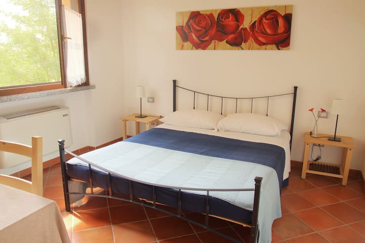 Room with bath - Certosa di Pavia - Certosa di Pavia - Bed & Breakfast
