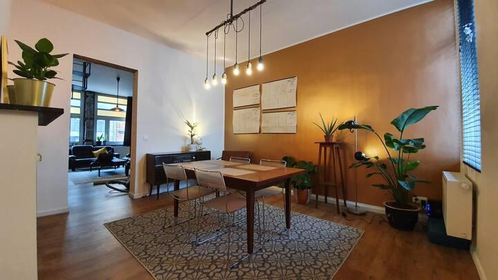 Gerenoveerd karaktervol duplexappartement Oostende