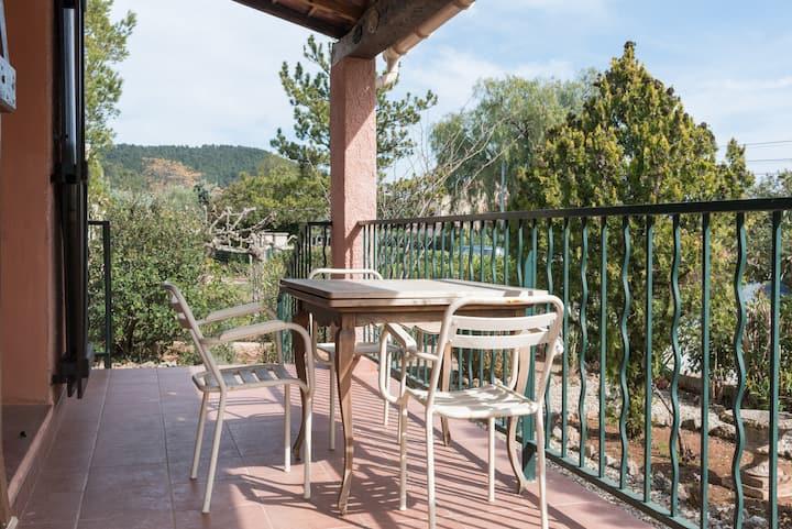 Provence villa chaleureuse pour 6