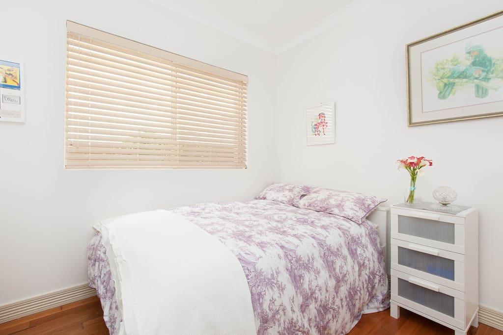 Smaller bedroom