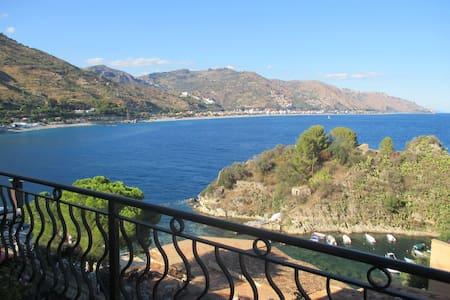 Apartment facing the sea Taormina! - Taormina