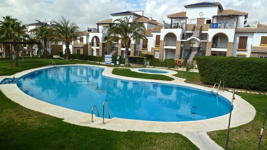 Al Andalus Hills-2B apartment, winter heated pool. - Vera
