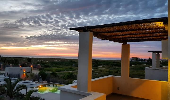 Vista Tortuga Ocean View VILLA-SUNSET Heated Pool