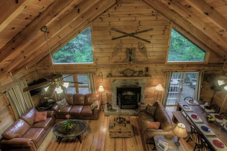 Walch Creekside Log Cabin Smoky Mnt - Cottage