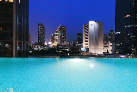 33 Floor Downtown 2bdrm, Near to Asoke and Nana