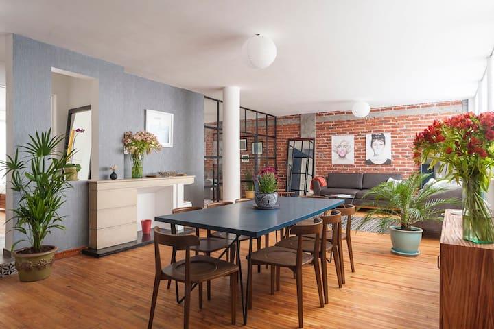 Design + Location = The Loft