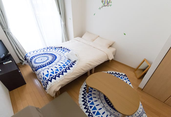 Cozy Apartment 1stop to Umeda 1min>STA #EK1204