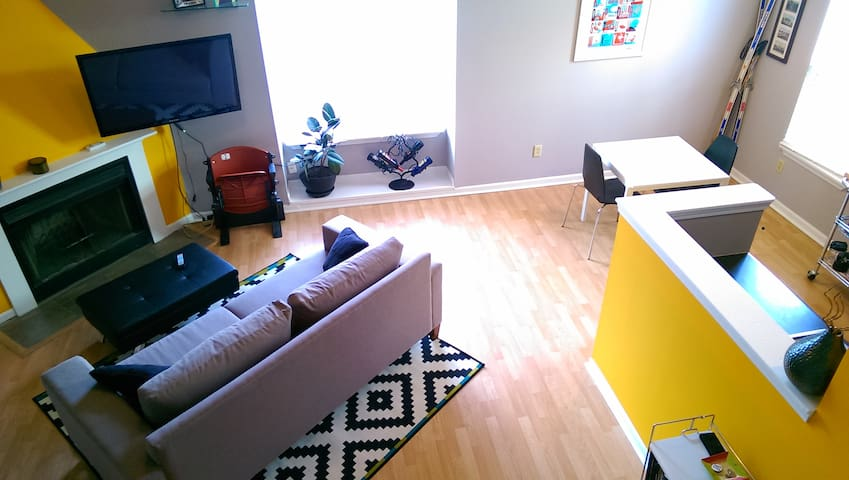 Quiet loft minutes from downtown - Indianapolis - Loft