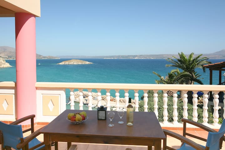 Apt No 3 with panoramic sea view - Almyrida Apokoronas Chania - Leilighet