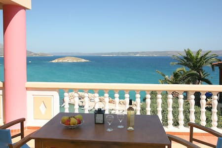 Apt No 3 with panoramic sea view - Almyrida Apokoronas Chania - 公寓