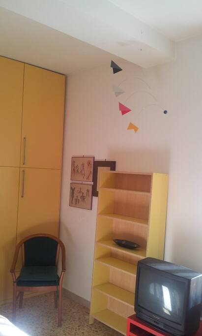 casetta gialla flaminio