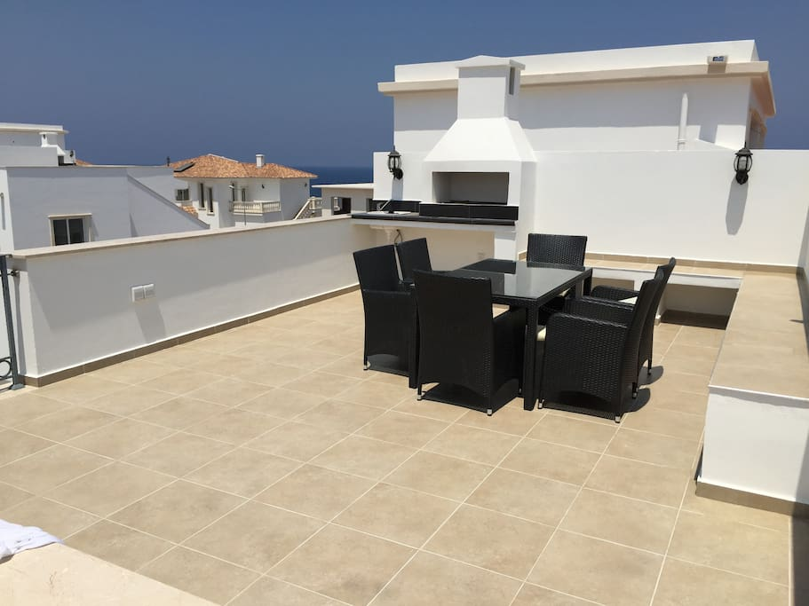 Penthouse with barbecue