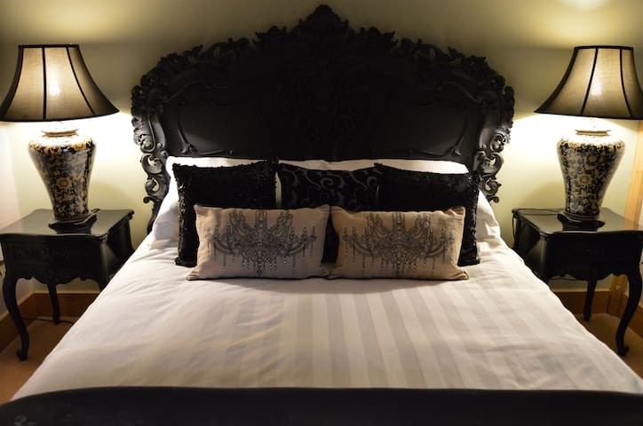 A chic rural bed and breakfast