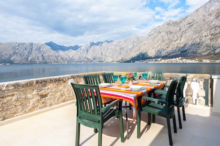 3 beds, Kotor, Huge Terrace - Prčanj