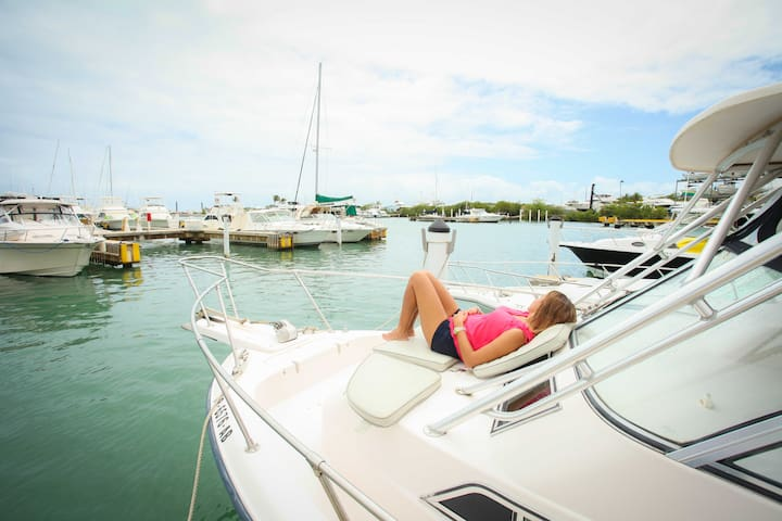 """Kalimera"" Boat by the Sea... - Puerto Del Rey Marina - Barco"