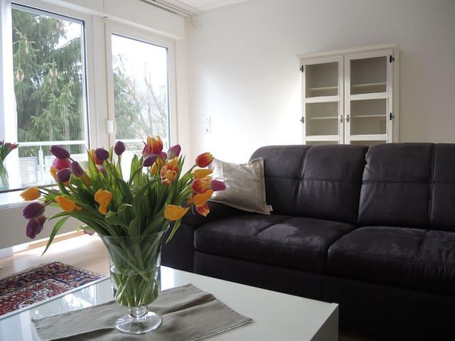 Sonnige Ferienwohnung in Lenningen - Lenningen - House