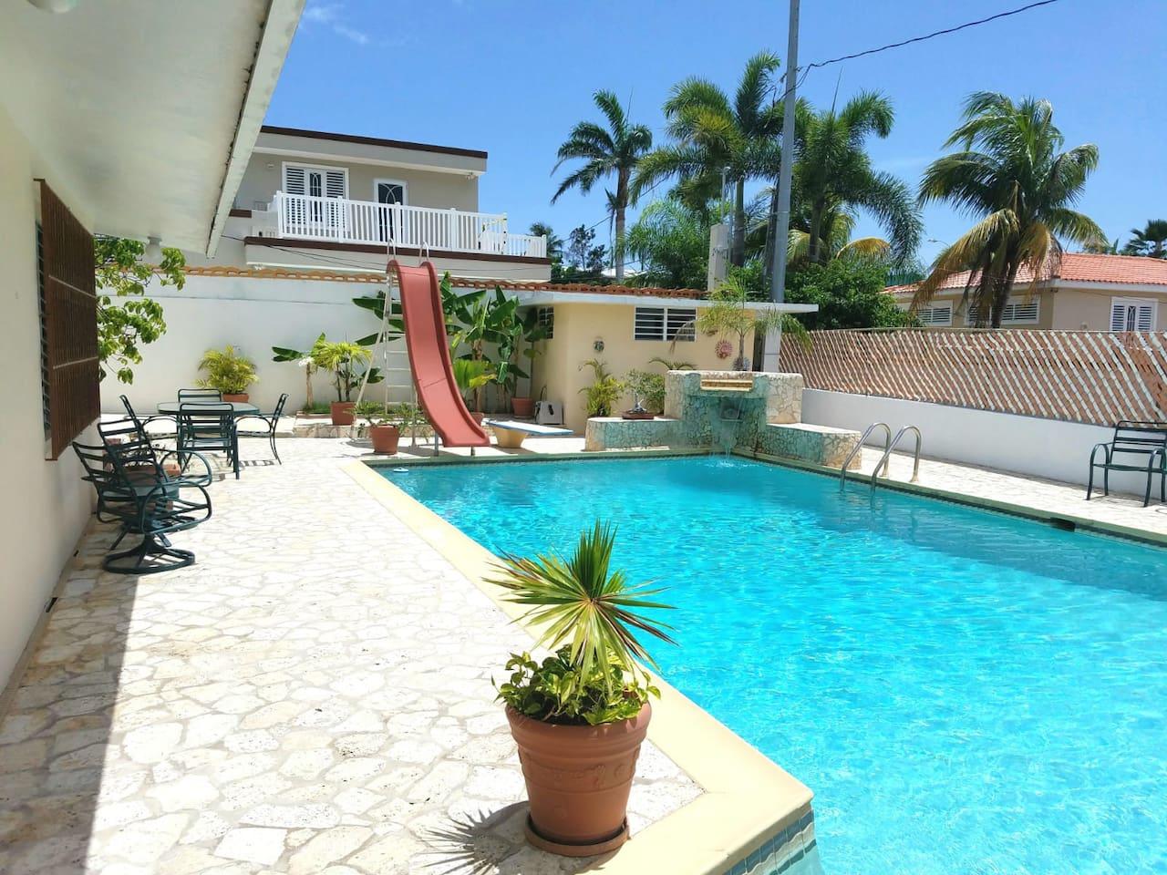 Poolside Chill Spot