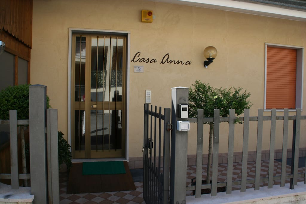 Entrata privata  CASA ANNA