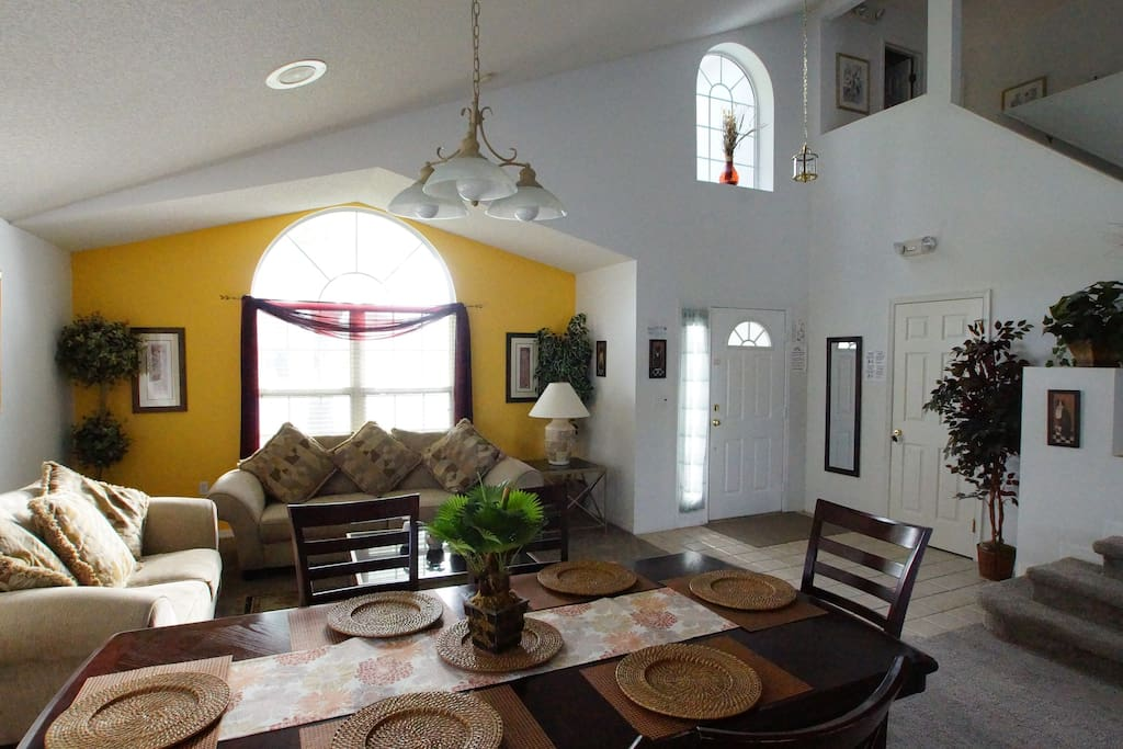 Dining & living space