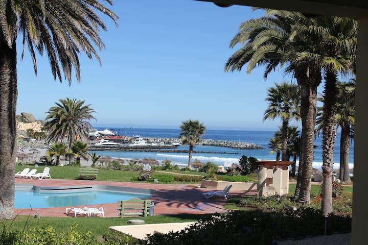 Departamento en Las Tacas frente al mar y piscina - Coquimbo