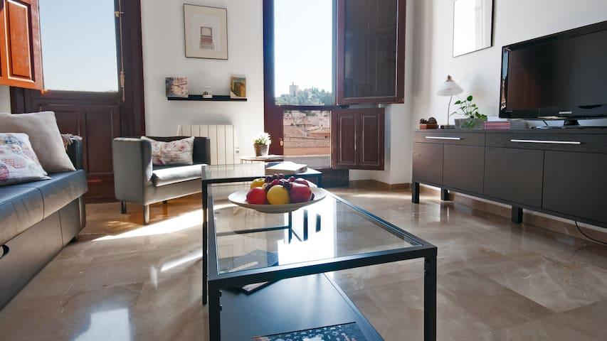 CENTRO.Apartamento exclusivo vistas Alhambra