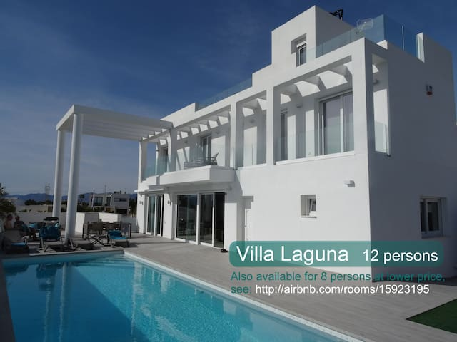 Rent spacious Villa Laguna up to 12 people. - San Fulgencio - House