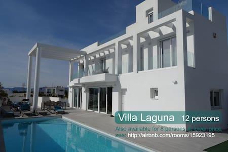 Rent spacious Villa Laguna up to 12 people. - San Fulgencio - 一軒家