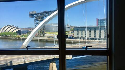Glasgow Luxury Apartment (SECC, Hydro and More)