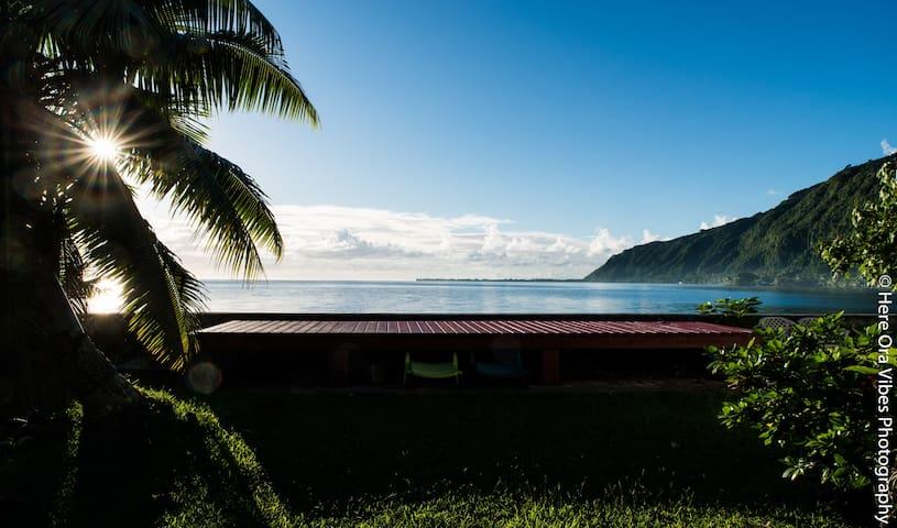 My little paradise retreat on Tautira - Tautira - Hus