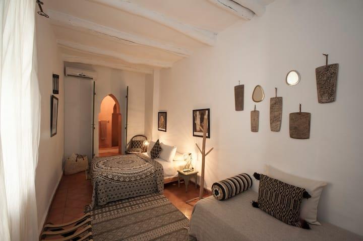 Cannelle chambre, Riad La Clé de La Médina 50 €